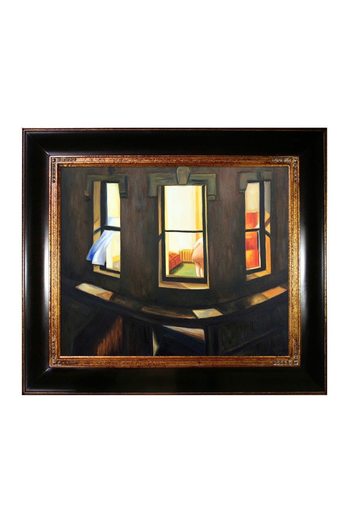 Edward Hopper Night Windows Canvas  WALL ART VARIOUS SIZES