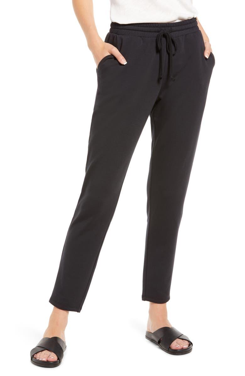 TREASURE AND BOND Treasure & Bond Tapered Sweatpants, Main, color, 001