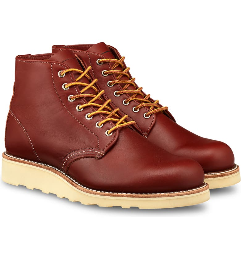 RED WING 6-Inch Round Toe Boot, Main, color, COLORADO LEATHER