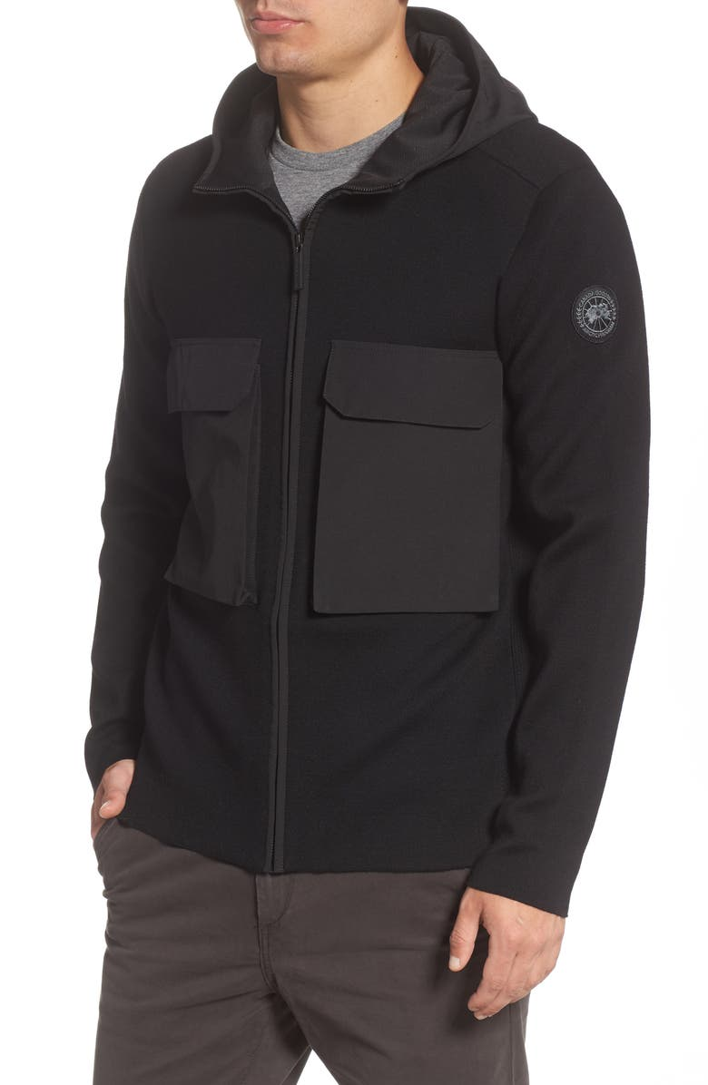 CANADA GOOSE Elgin Zip Hoodie, Main, color, 001