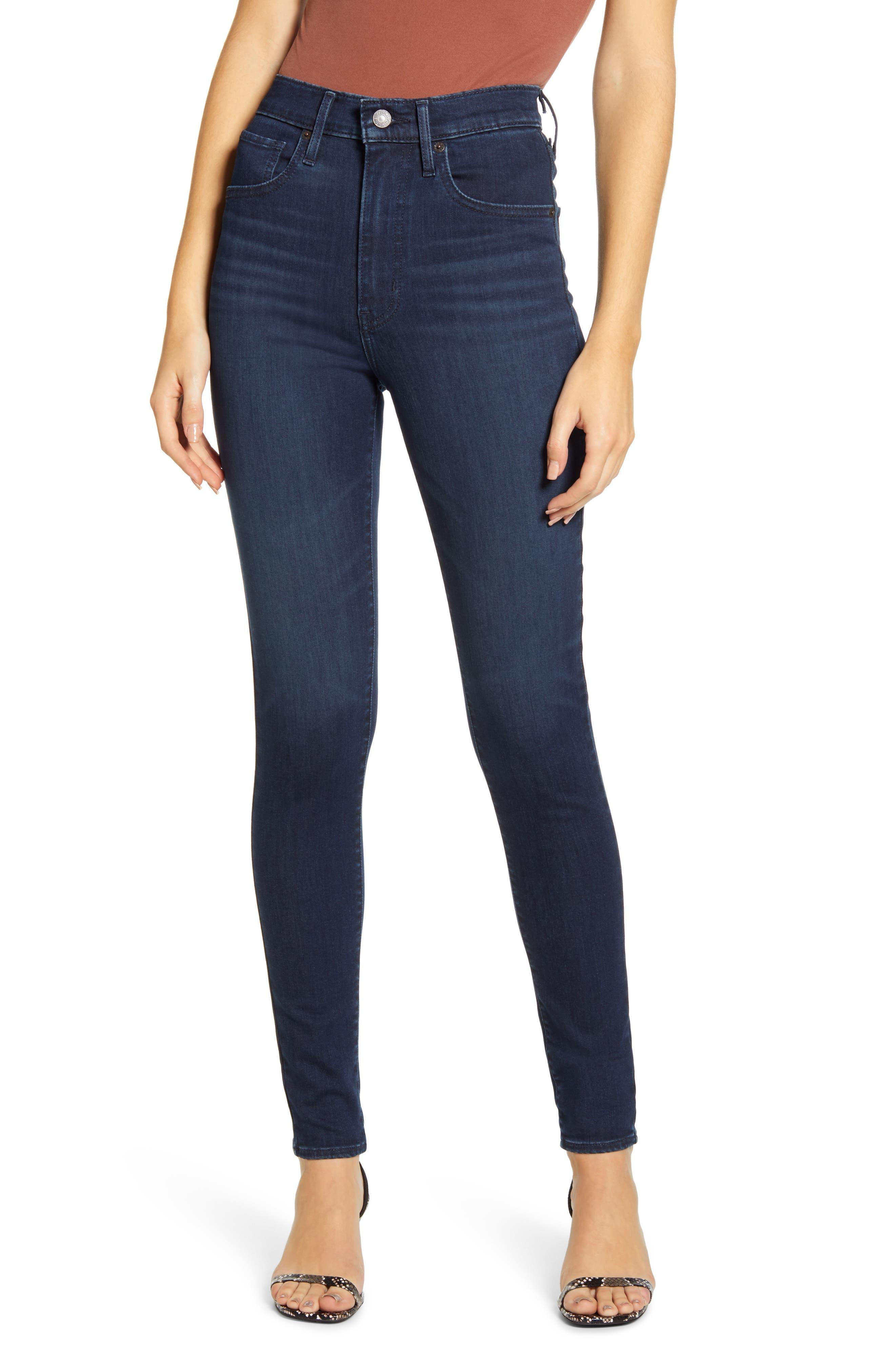 Levi's® Mile High Super Skinny Jeans (Echo Darkness) | Nordstrom
