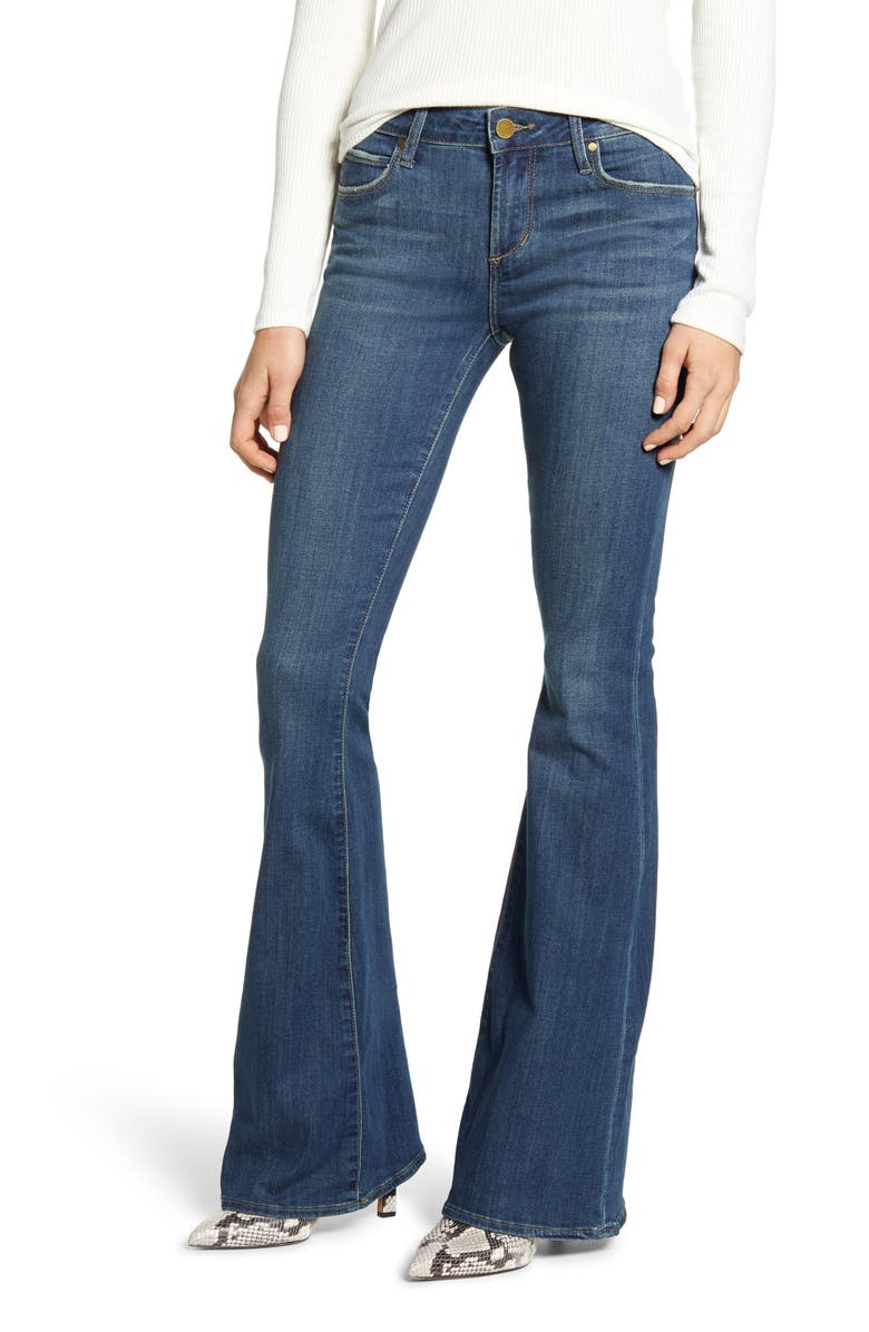 ARTICLES OF SOCIETY Faith Flare Jeans, Main, color, 422