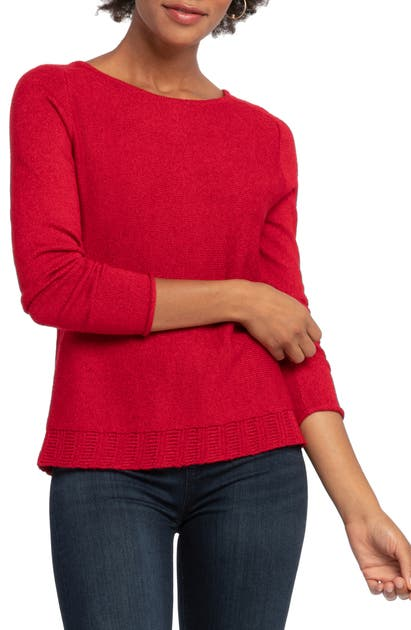 Nic + Zoe Sweaters BACK COUNTRY BUTTON BACK CARDIGAN SWEATER