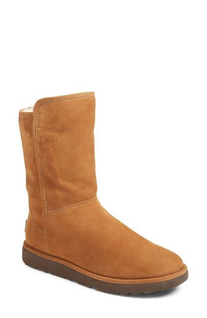 Image of UGG Abree II Genuine Sheepskin Fur Lined Short Boot
