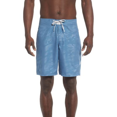 Under Armour Short Break Embossed Board Shorts, Blue