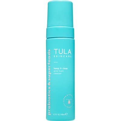Tula Probiotic Skincare Keep It Clear Acne Foam Cleanser