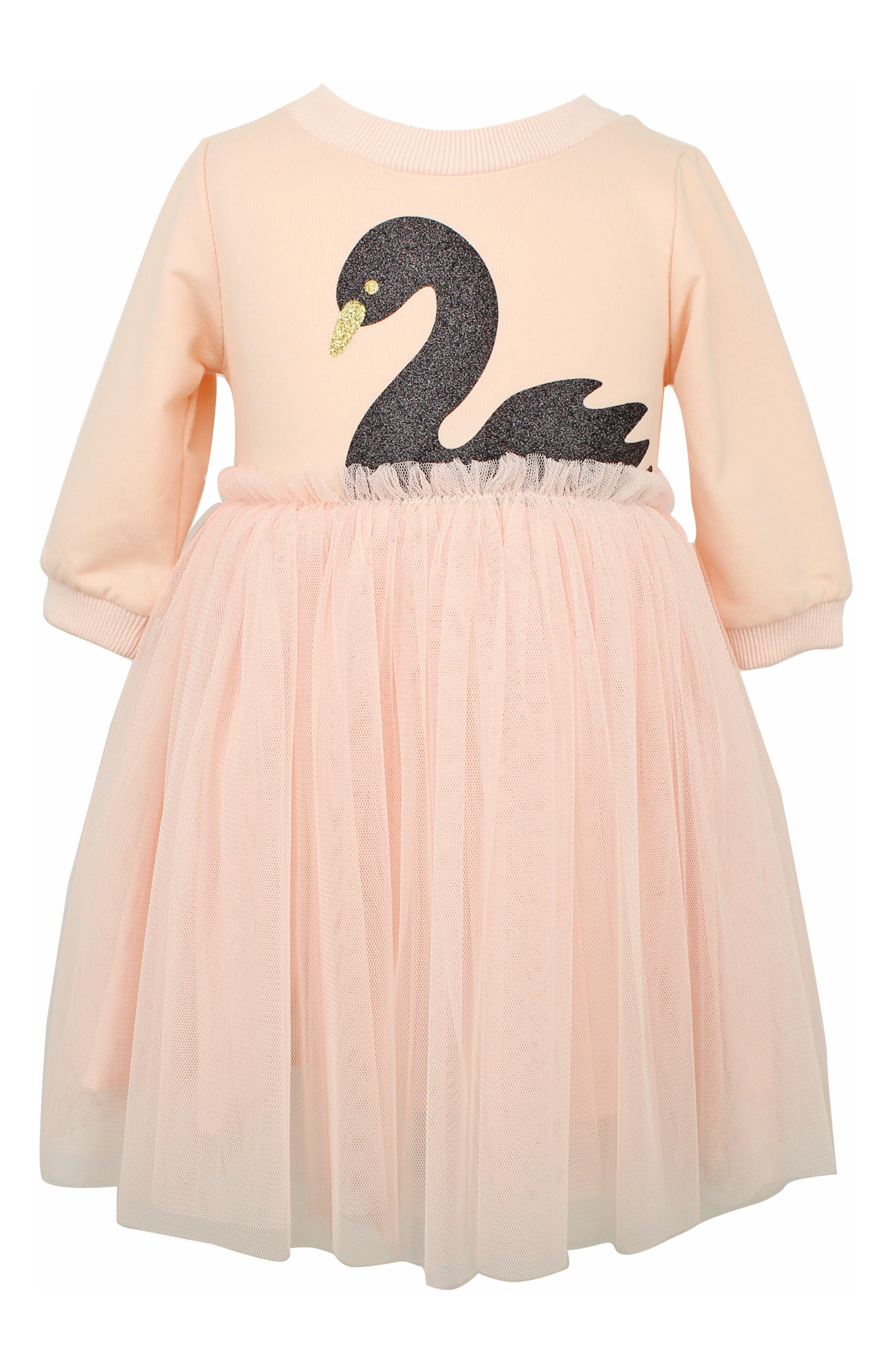 Image of Popatu Swan Tulle Dress