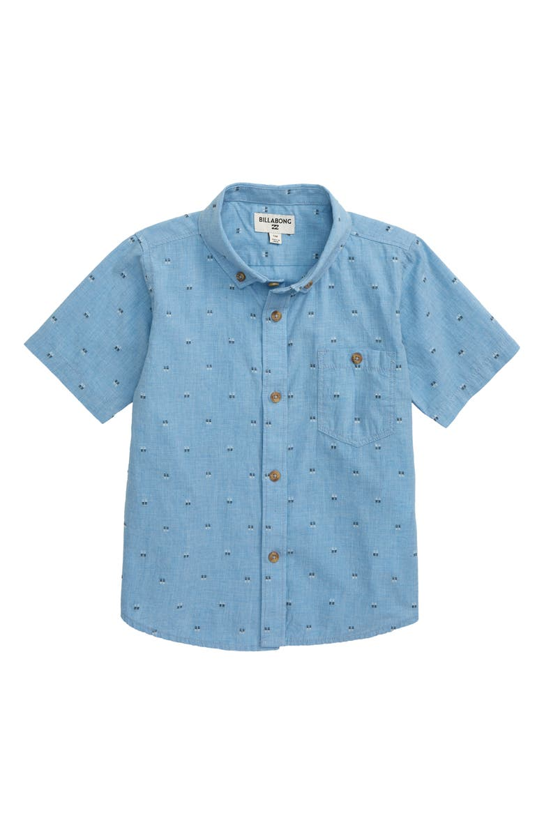 Billabong All Day Jacquard Woven Shirt Little Boys