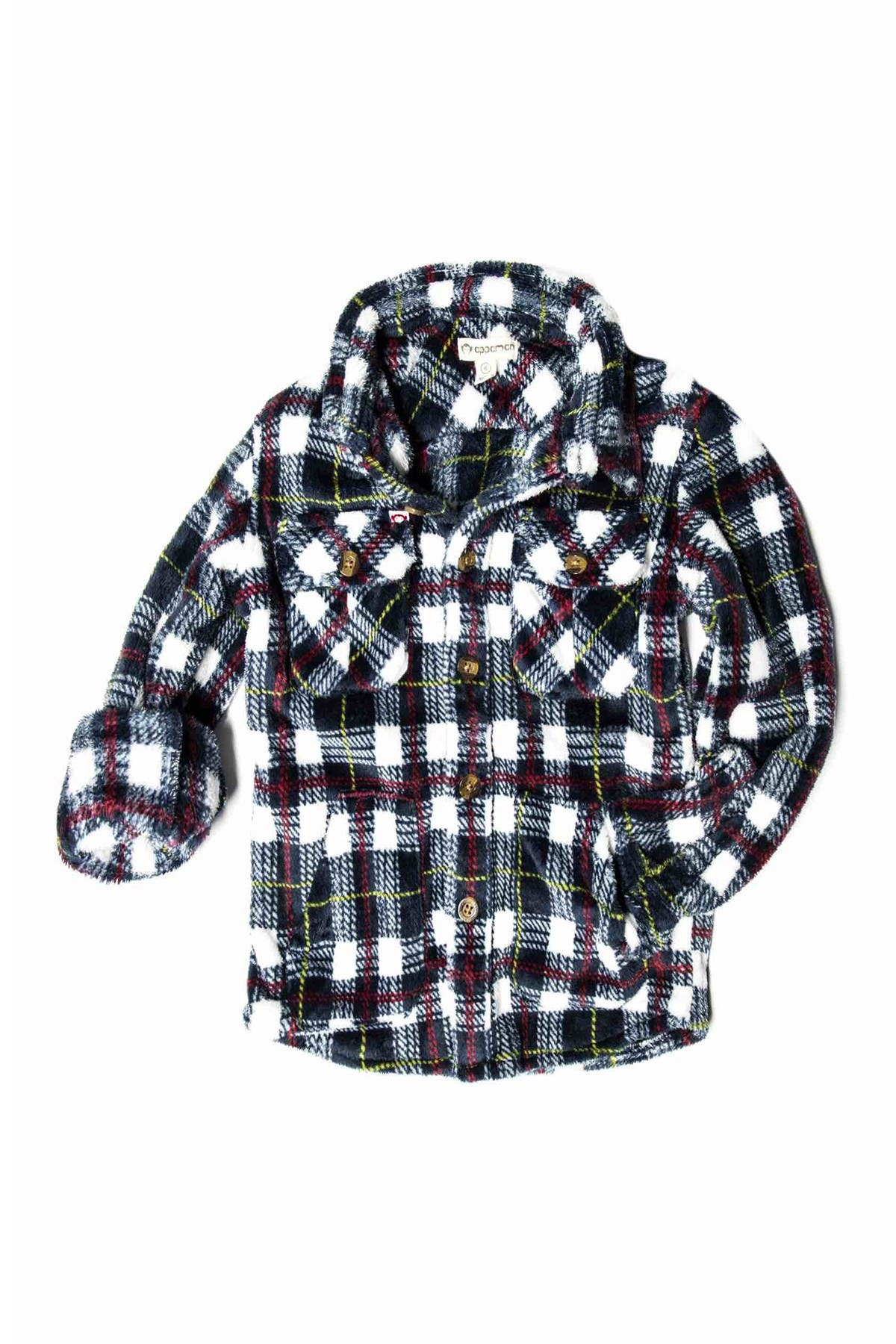 Image of Appaman Snow Fleece Shirt