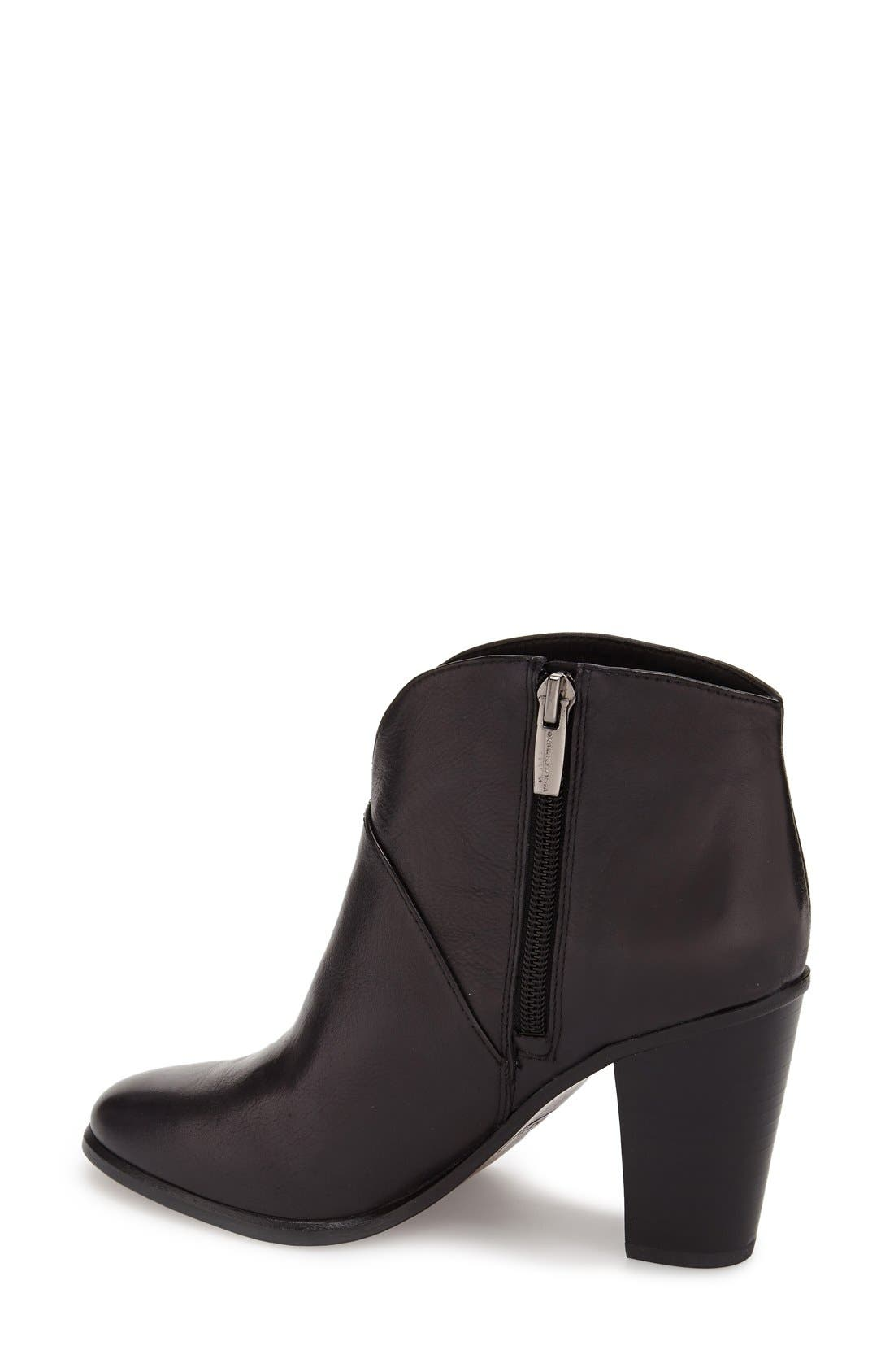 ,                             'Franell' Western Bootie,                             Alternate thumbnail 3, color,                             002