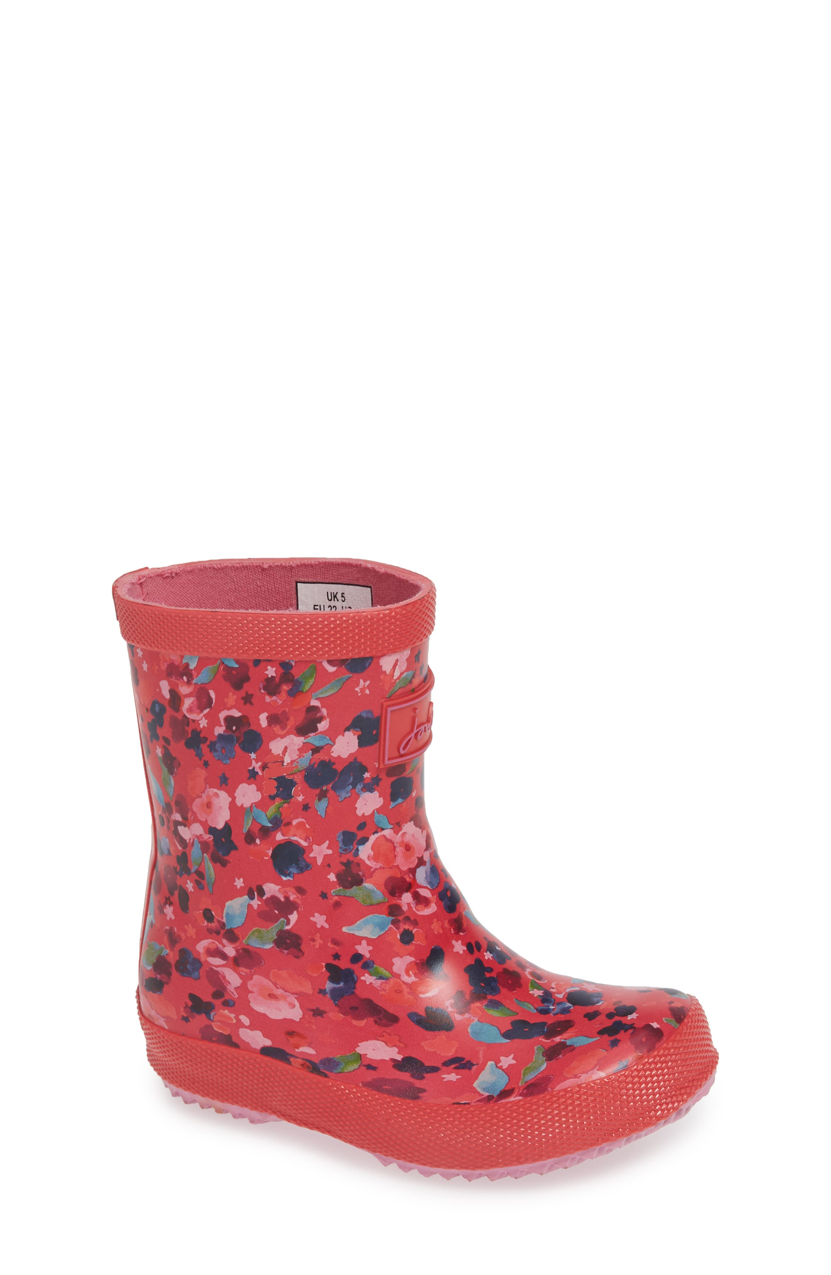 ,                             Baby Welly Print Waterproof Boot,                             Main thumbnail 28, color,                             659