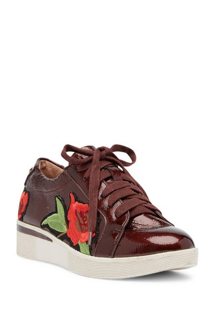Image of Gentle Souls by Kenneth Cole Haddie Leather Rose Sneaker