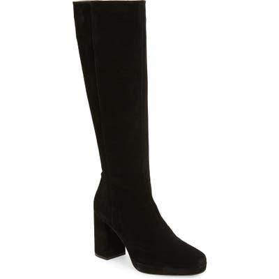 Topshop Toronto Knee High Boot - Black