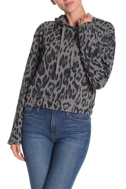 Image of Socialite Leopard Print Hoodie