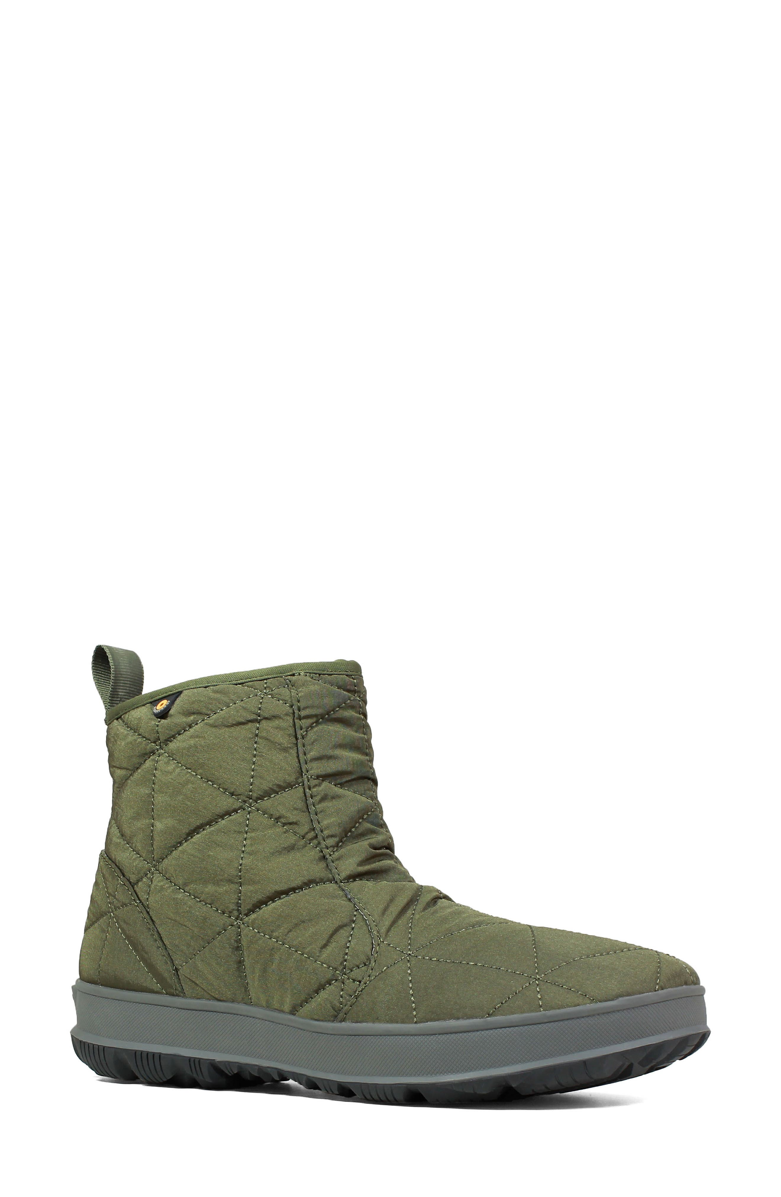 ,                             Snowday Waterproof Quilted Snow Boot,                             Main thumbnail 17, color,                             301