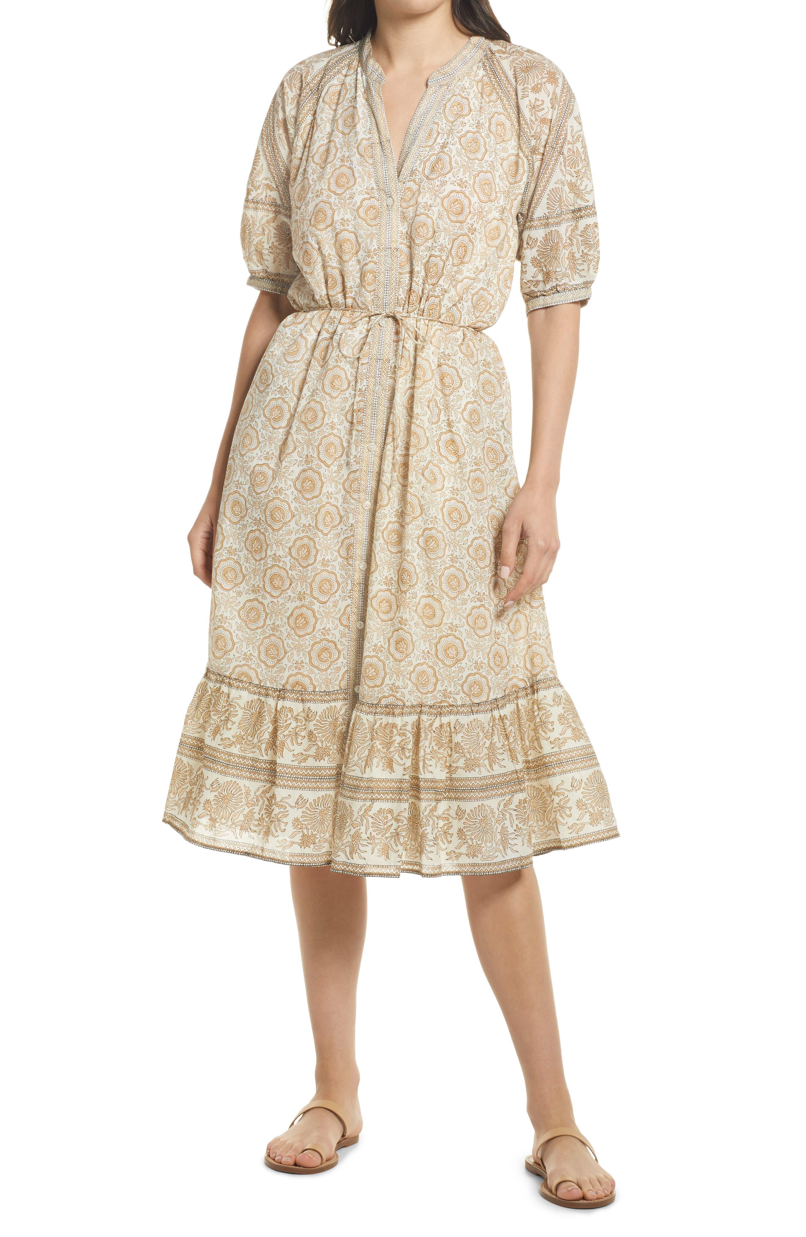 Maddelyn Organic Cotton Midi Dress
