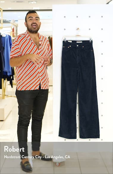 Ribcage Wide Leg Corduroy Pants, sales video thumbnail