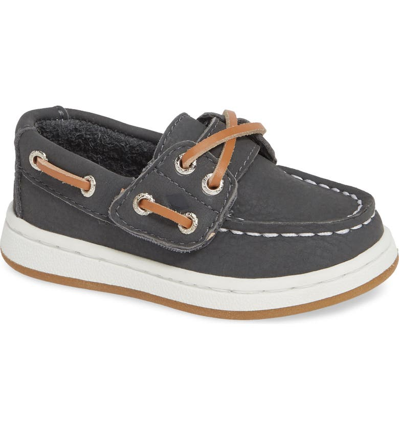 SPERRY KIDS Cup II Boat Shoe, Main, color, GREY