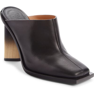 Givenchy Show Square Toe Mule - Black
