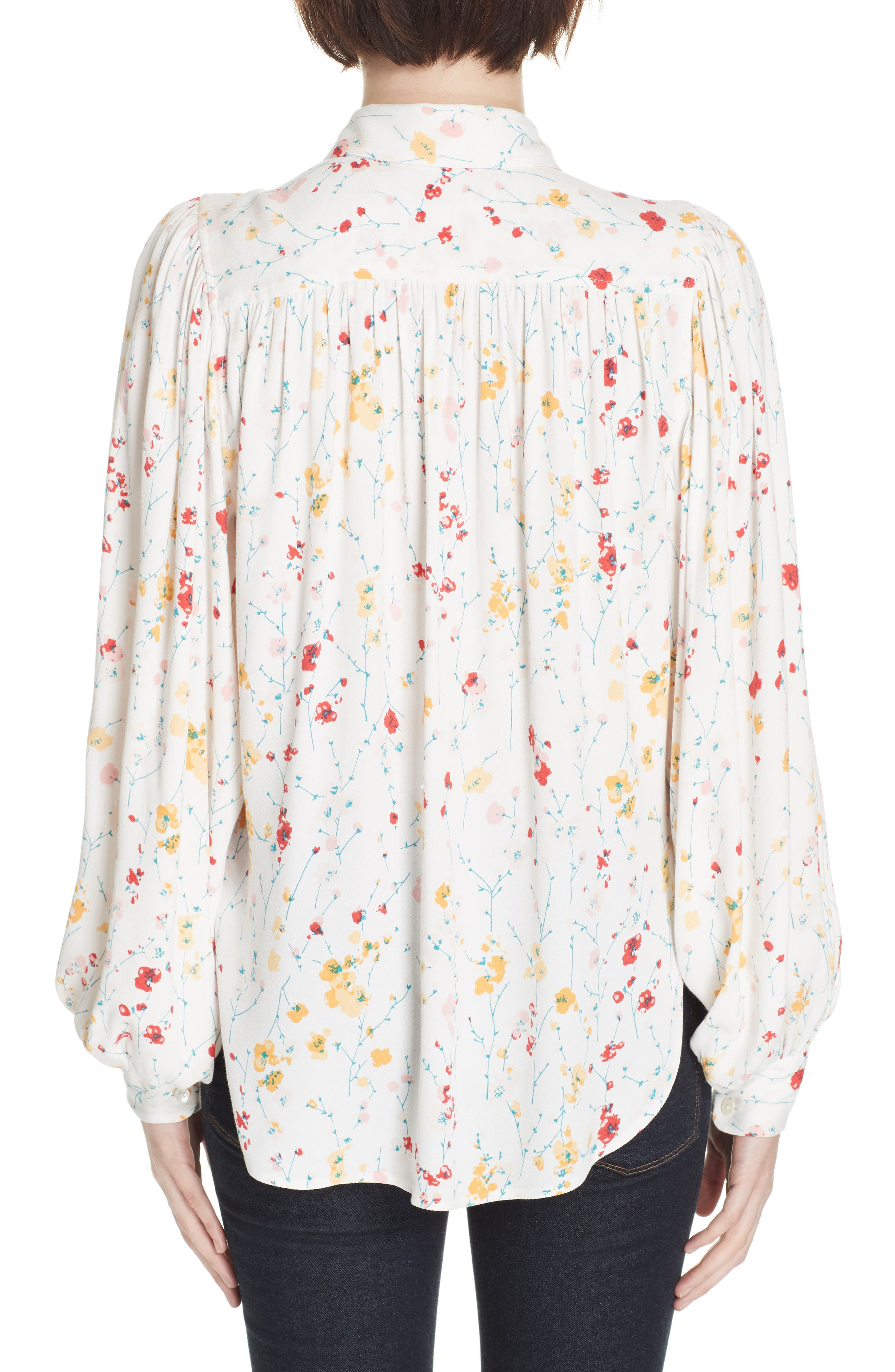 ,                             Marcilly Blouse,                             Alternate thumbnail 2, color,                             100