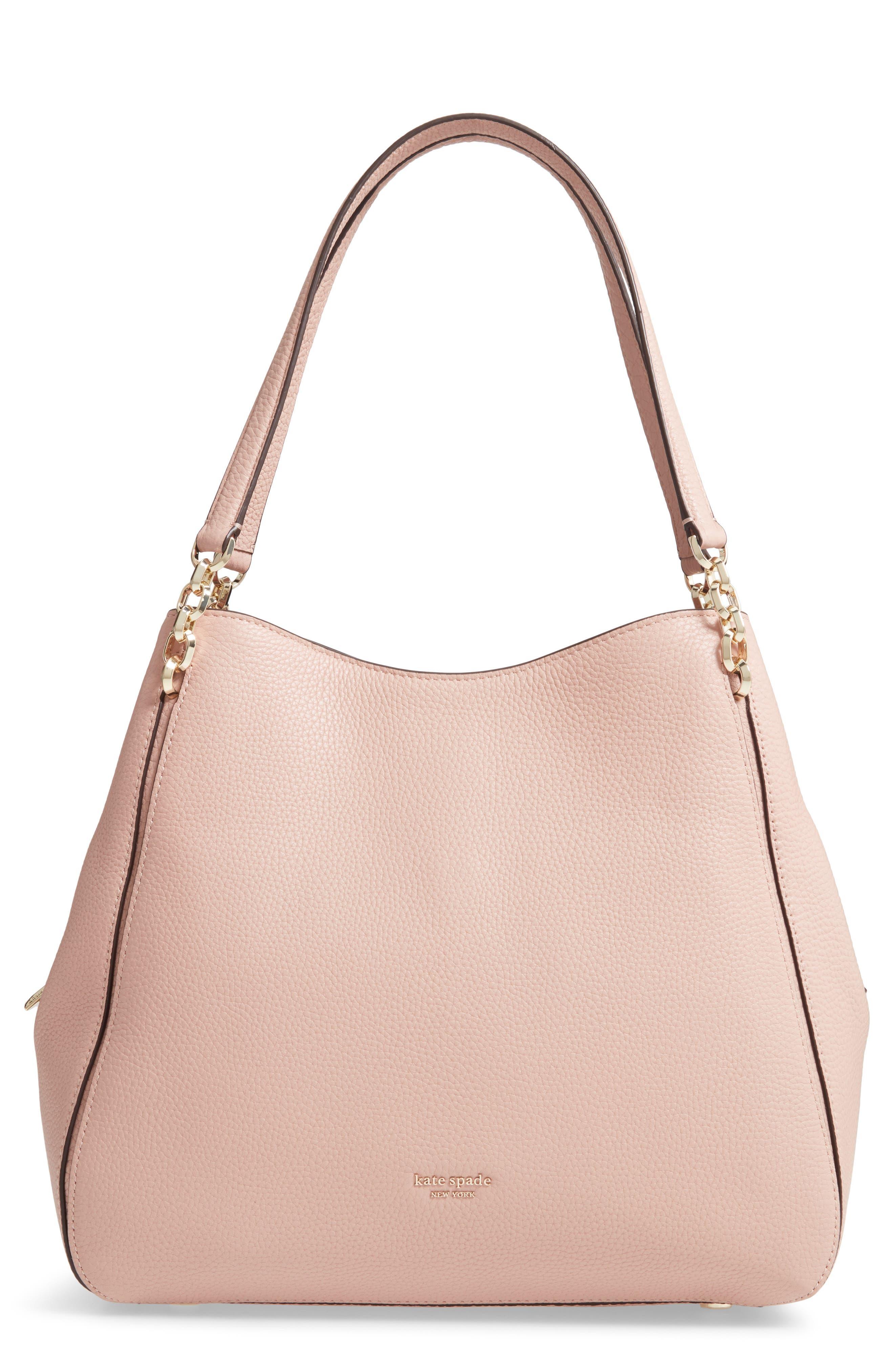 Kate Spade New York Large Hailey Leather Shoulder Bag