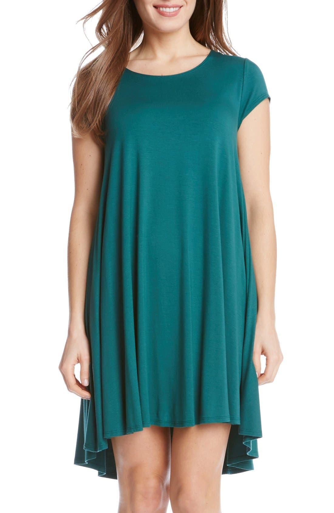 ,                             'Maggie' Cap Sleeve Trapeze Dress,                             Main thumbnail 12, color,                             311