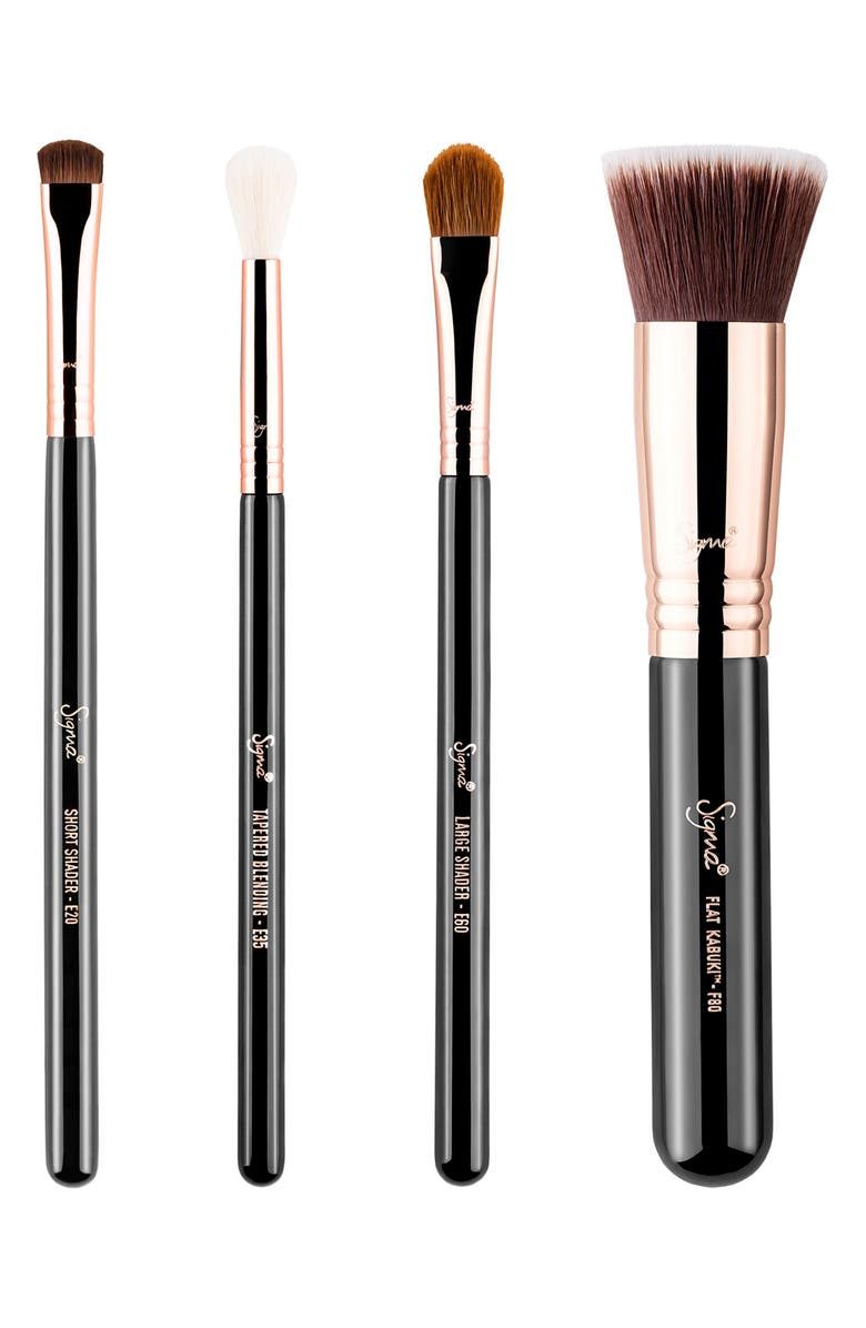 SIGMA BEAUTY Classic Copper Essential Brush Set, Main, color, 000