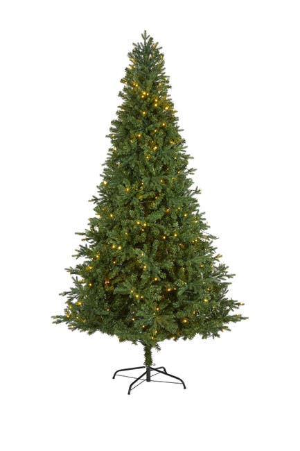 Image of NEARLY NATURAL 8ft. Vermont Fir Artificial Christmas Tree