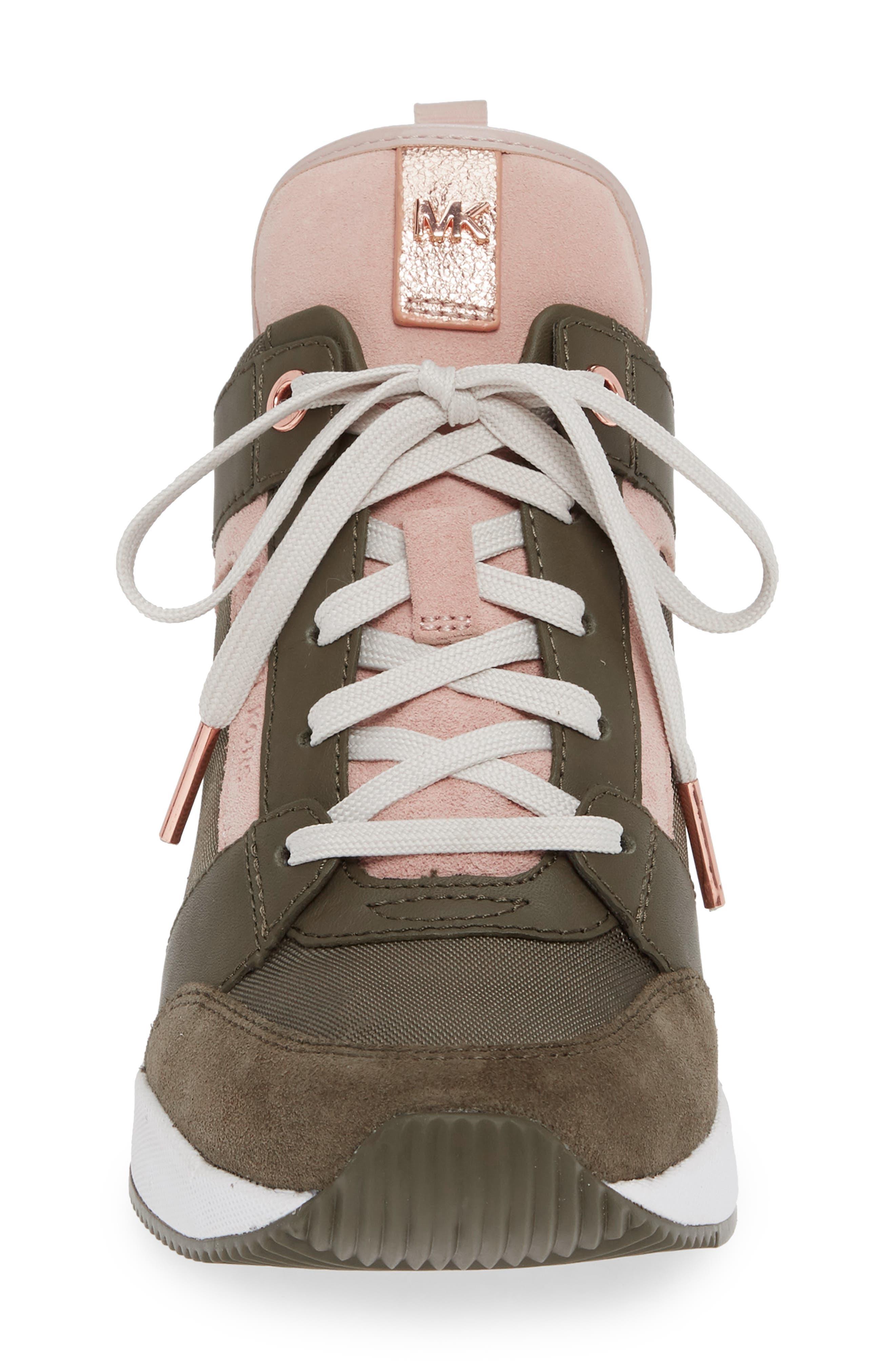 ,                             Georgie Wedge Sneaker,                             Alternate thumbnail 28, color,                             333