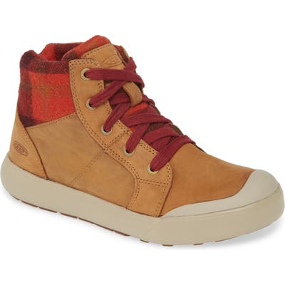 Keen Elena Insulated High Top Sneaker, Beige