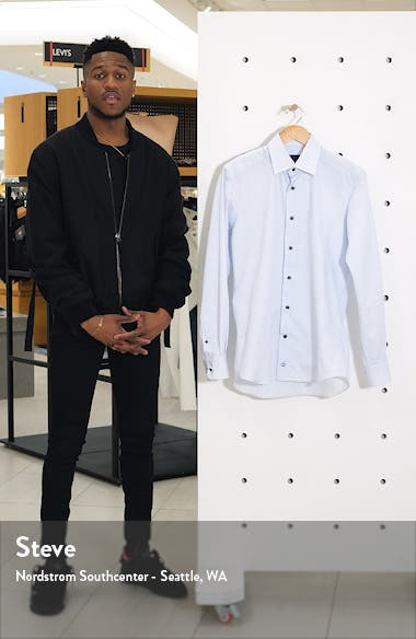 Trim Fit Dot Dress Shirt, sales video thumbnail