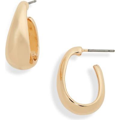 Bp. Thick Metal Hoop Earrings