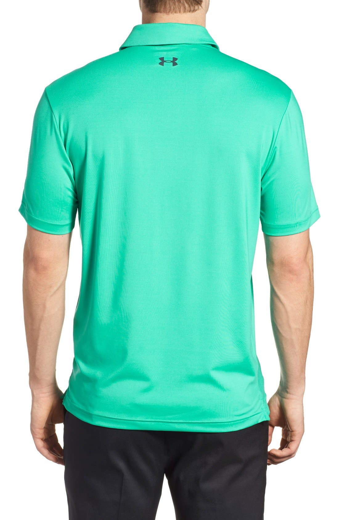 ,                             'Playoff' Loose Fit Short Sleeve Polo,                             Alternate thumbnail 176, color,                             349