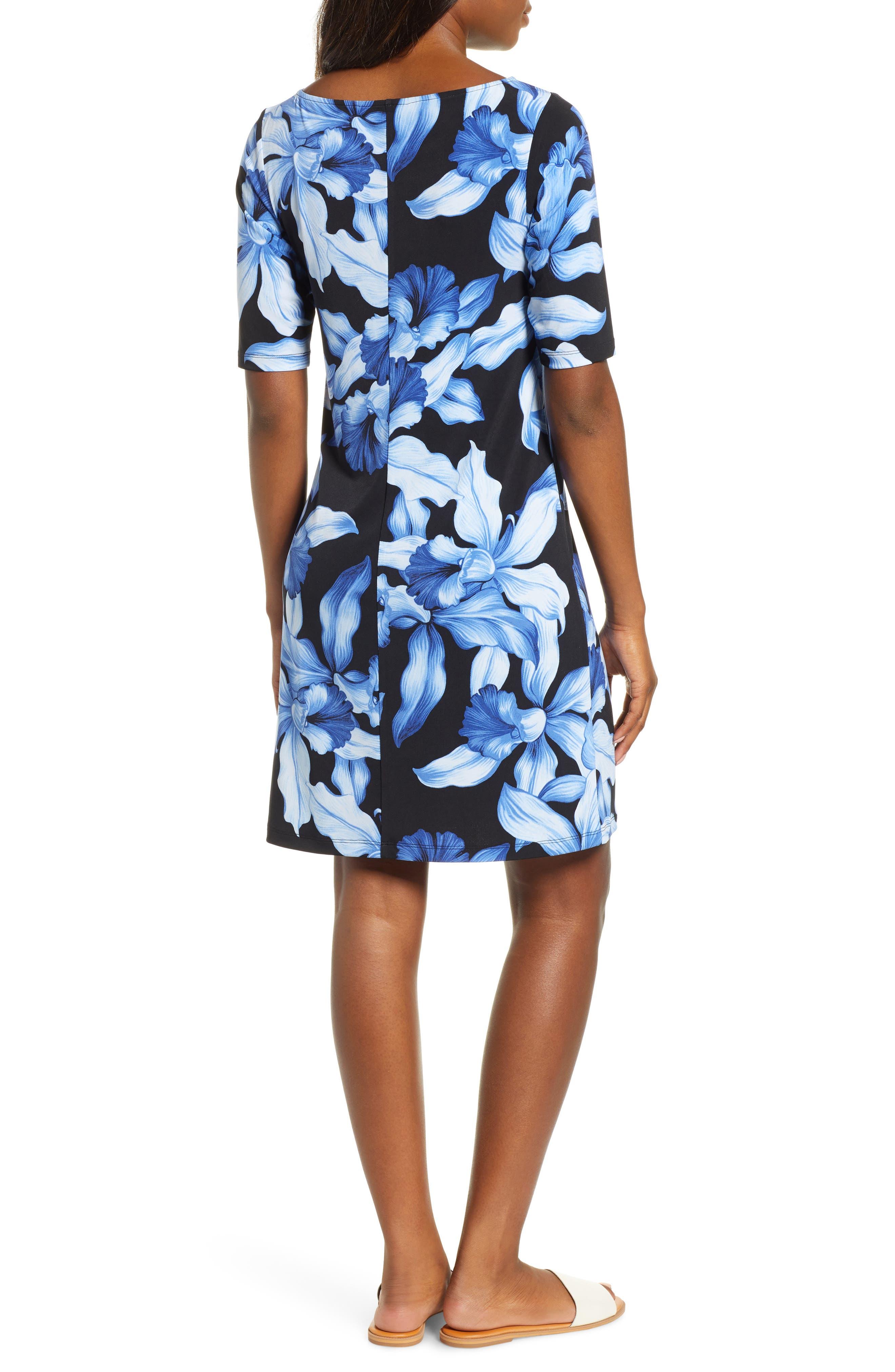 ,                             Orchid Rua Dress,                             Alternate thumbnail 2, color,                             BLACK