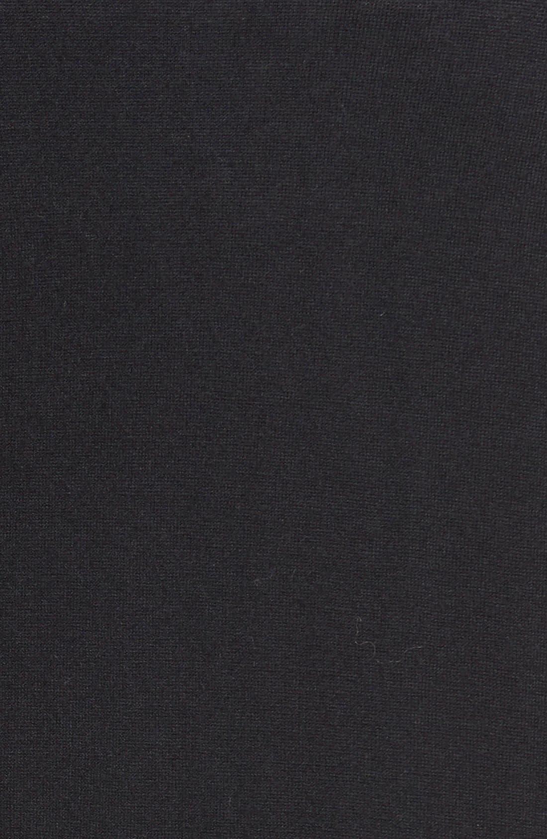 ,                             Long Bouclé Open Cardigan,                             Alternate thumbnail 2, color,                             001