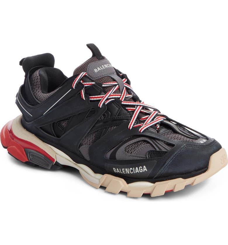 BALENCIAGA Track Sneaker, Main, color, BLACK/ GREY