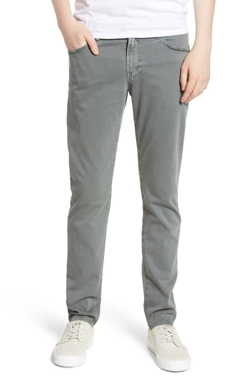 AG Dylan Skinny Fit Pants, Main, color, SULFUR FOG BEACH