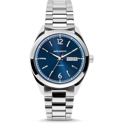 Jack Mason Canton Automatic Bracelet Watch, 40Mm