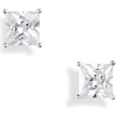 Nordstrom Princess Cut Cubic Zirconia Stud Earrings