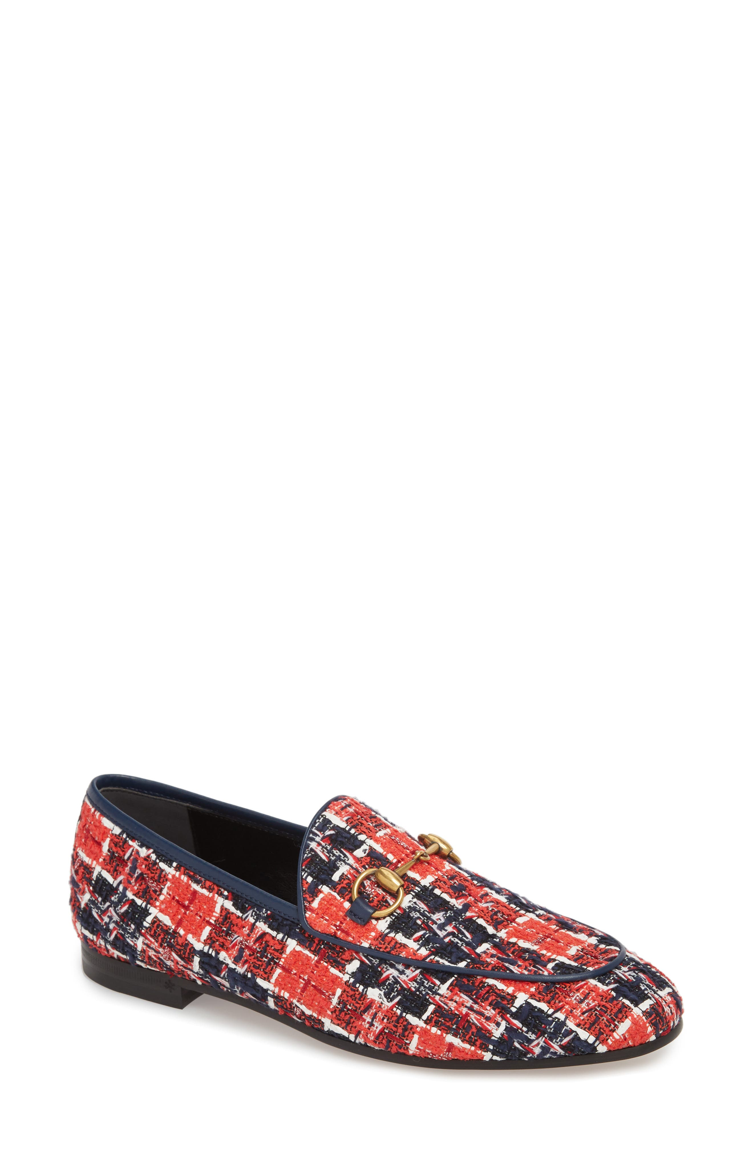 Gucci New Jordaan Loafer - Red