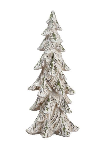 "Image of ALLSTATE 14"" Glittered Tree"