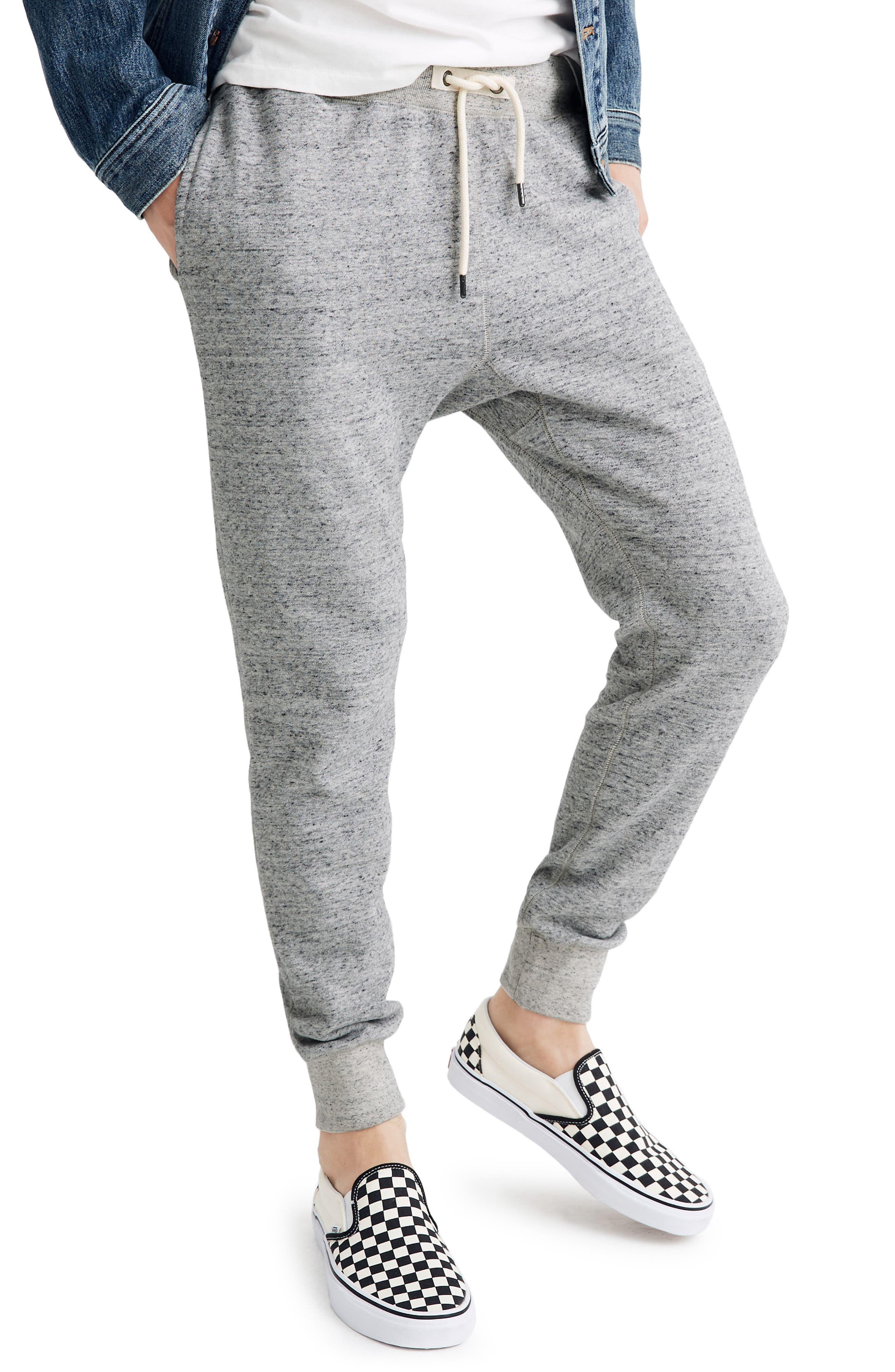 Men's Madewell Heathered Jogger Sweatpants