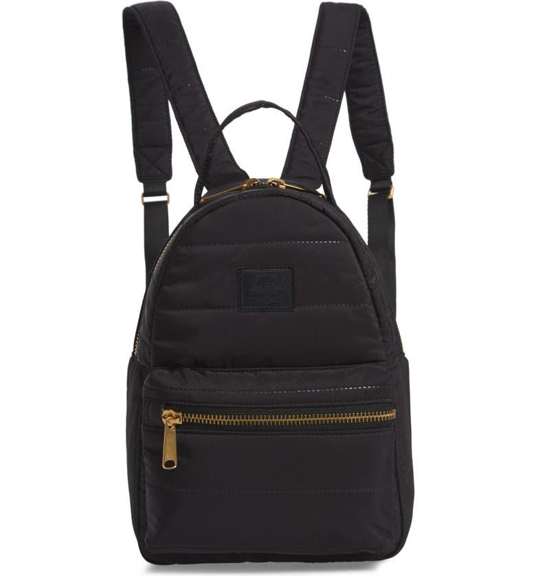HERSCHEL SUPPLY CO. Mini Nova Backpack, Main, color, BLACK