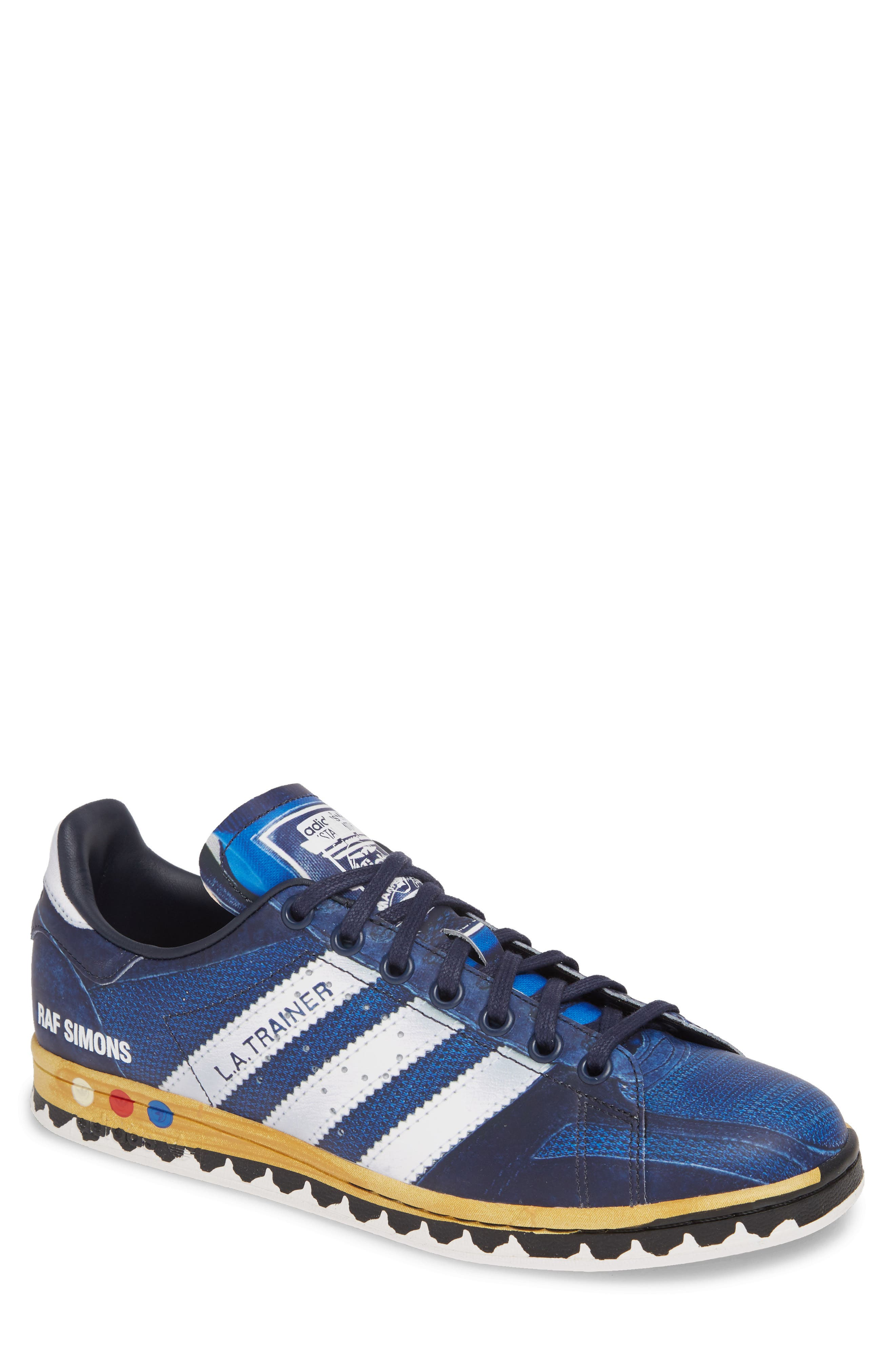 Adidas By Raf Simons La Stan Sneaker, Blue