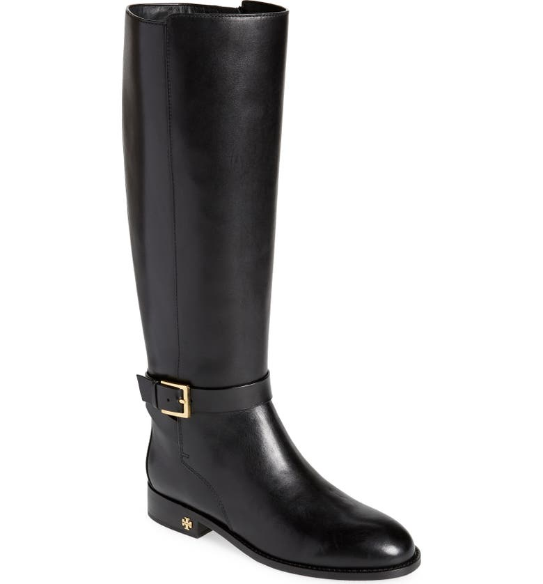 TORY BURCH Brooke Knee High Boot, Main, color, 006
