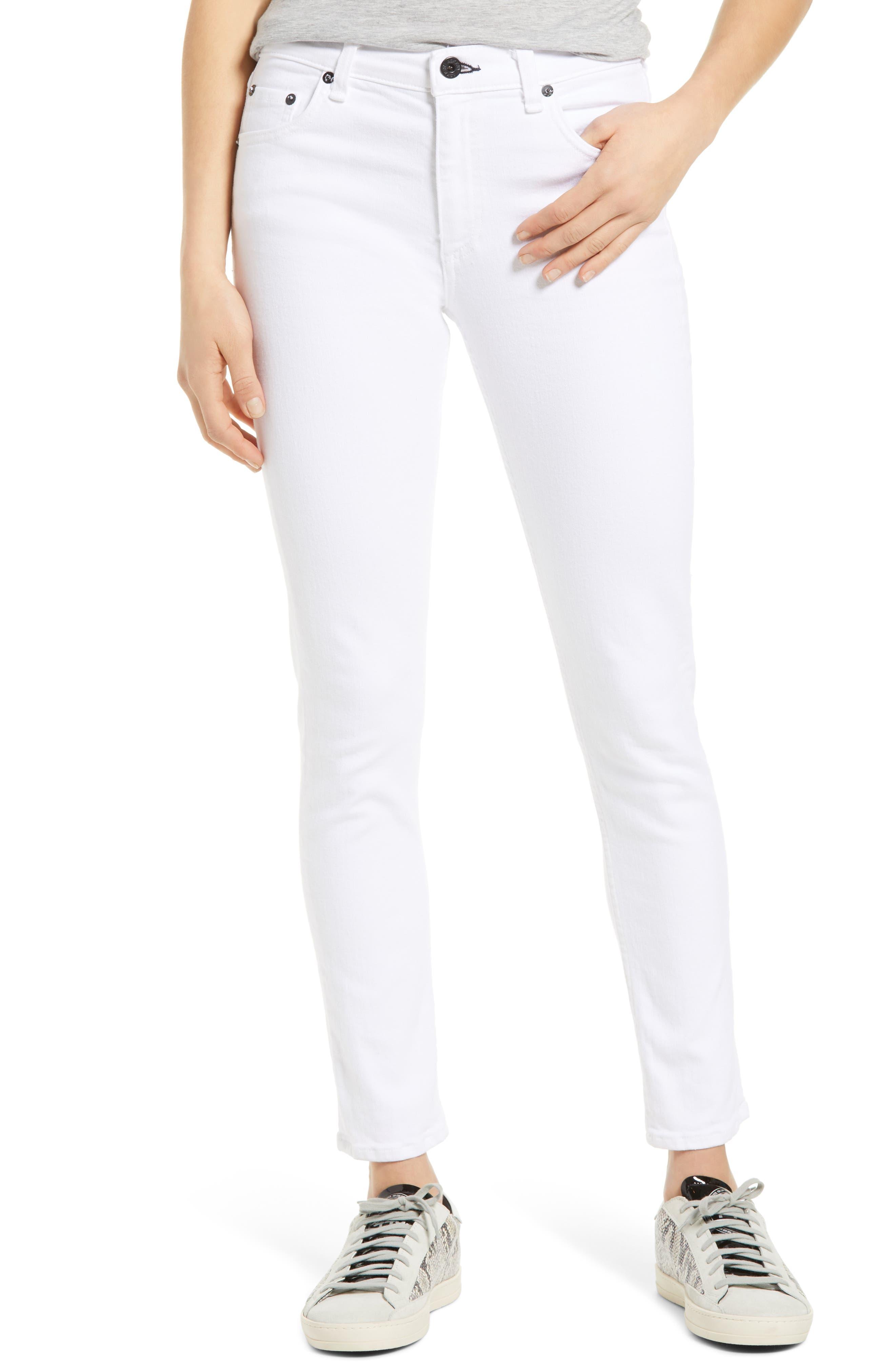 Jax High Waist Ankle Skinny Jeans
