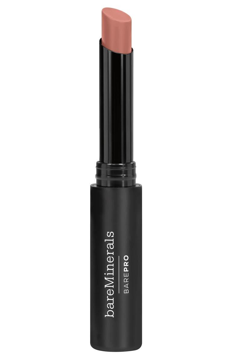 BAREMINERALS<SUP>®</SUP> BarePro Longwear Lipstick, Main, color, PEONY