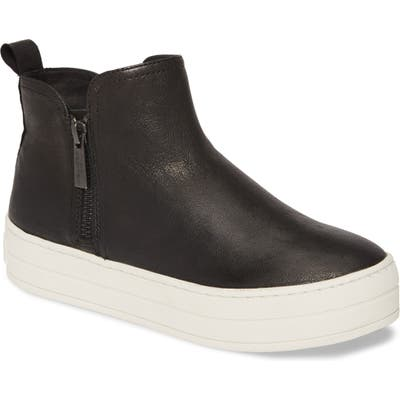 Jslides Cindy High Top Sneaker- Black