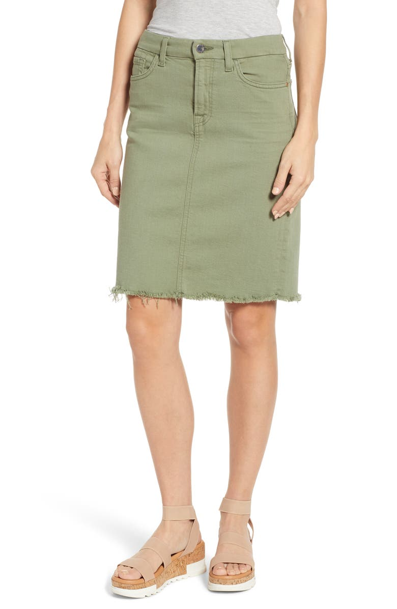 JEN7 BY 7 FOR ALL MANKIND Pencil Skirt, Main, color, 301