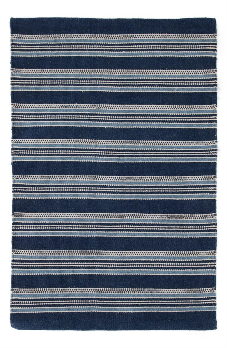 DASH & ALBERT 'Cameroon' Indoor/Outdoor Rug, Main, color, BLUE/ MULTI